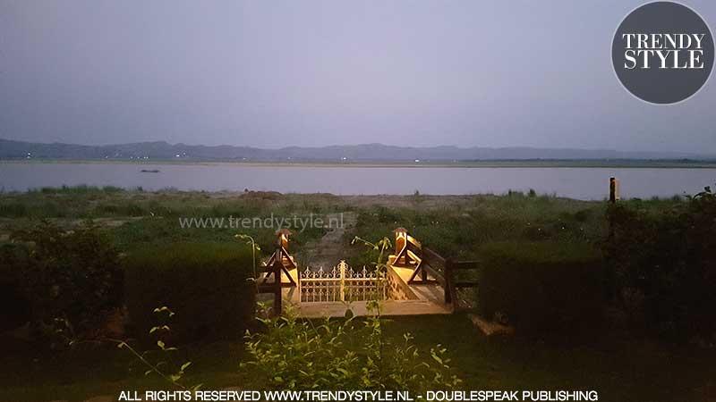 Irrawaddy river Bagan