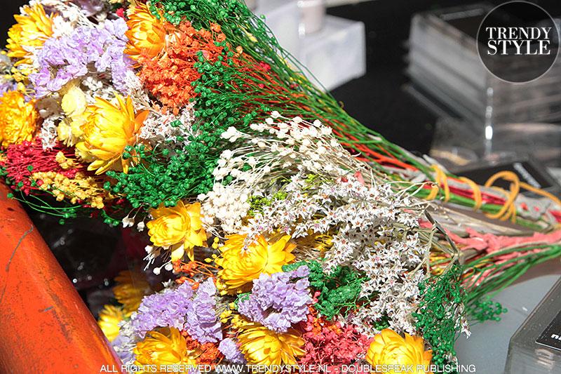 Nail art met bloemetjes