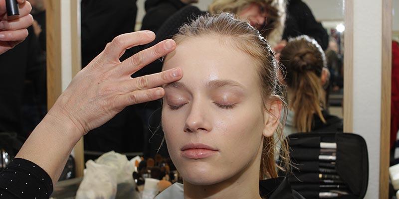 Make-up trend herfst winter 2018 2019: natuurlijke make-up look