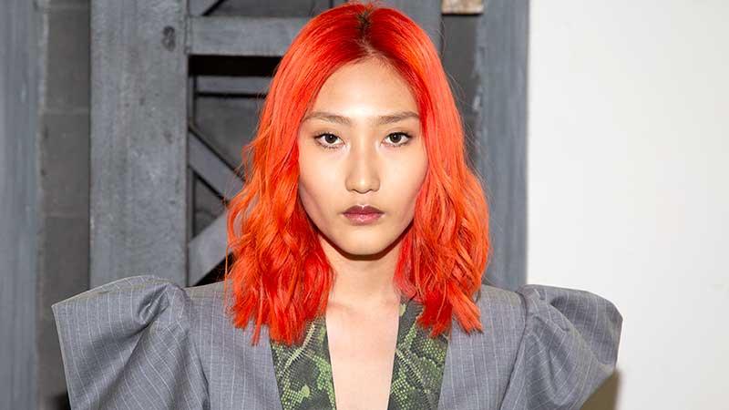 Haarkleur trends lente zomer 2020. Neon haarkleuren