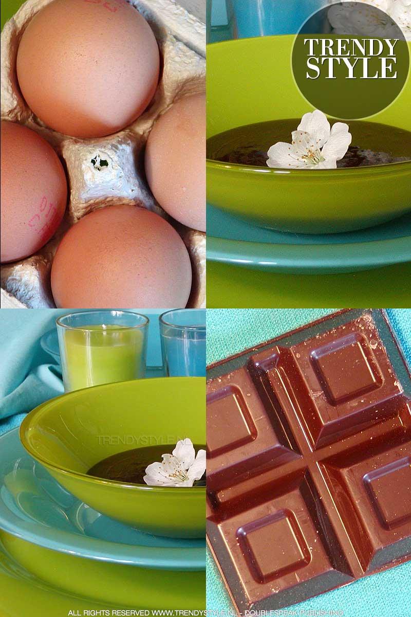 Paaseieren over? Maak er chocolademousse van!