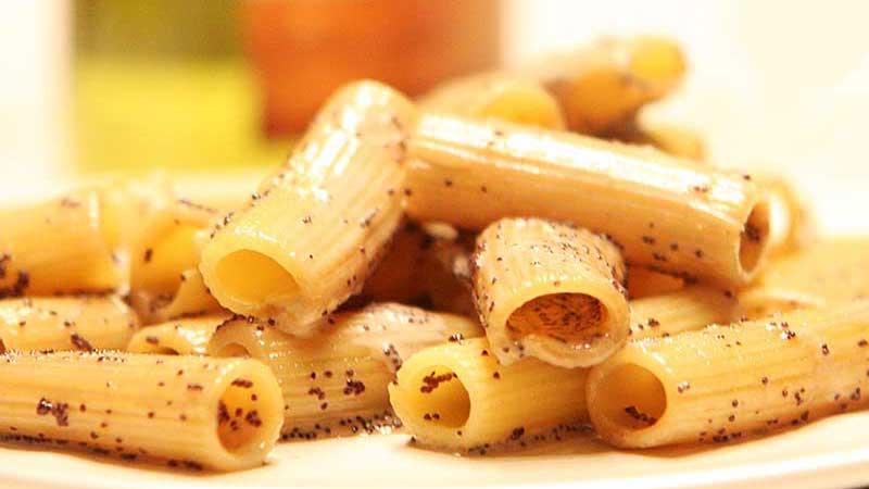 Pasta met steureitjes