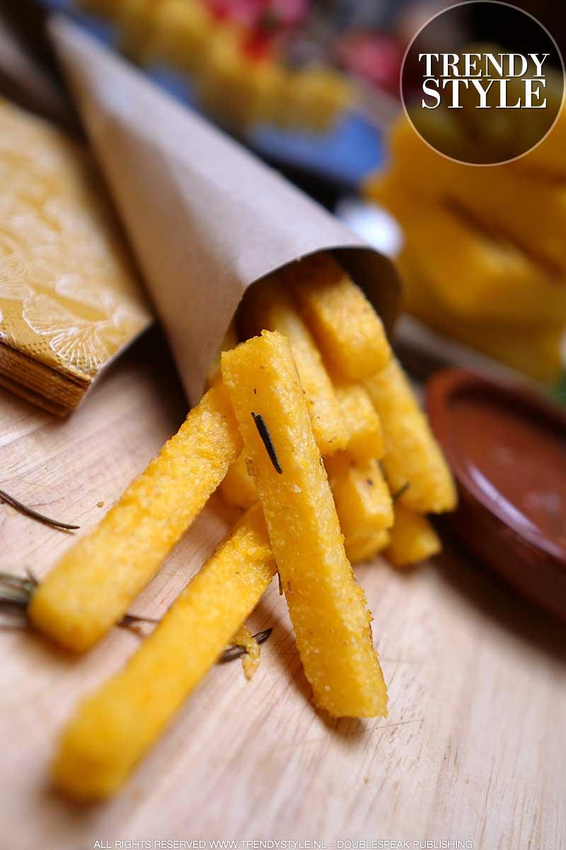 Eten & slanke lijn. Patat friet van polenta