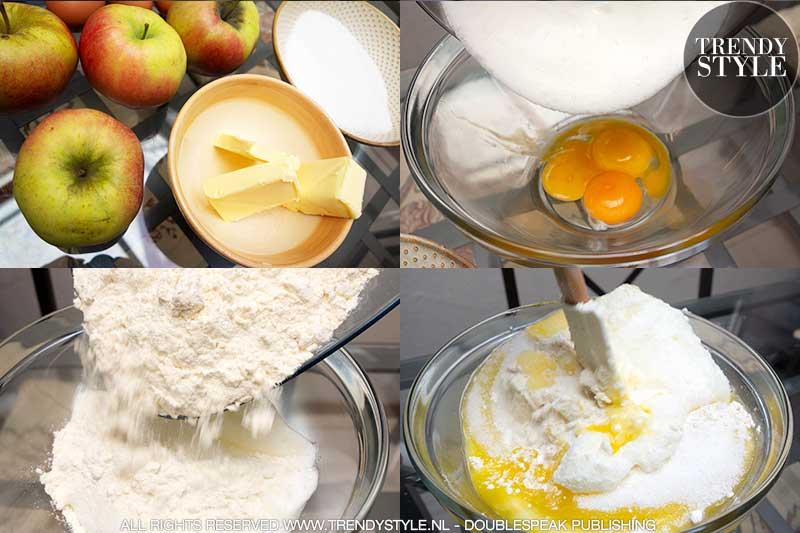 Recept appeltaart light