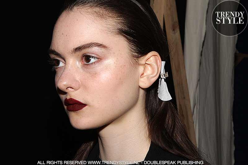 Cool rock'n'roll kapsel. Fashion Show: Aquilano.Rimondi, hair: Damien Boissinot