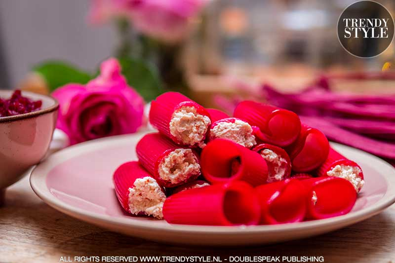 Valentijnsrecept. Liefdespasta met pittige ricotta