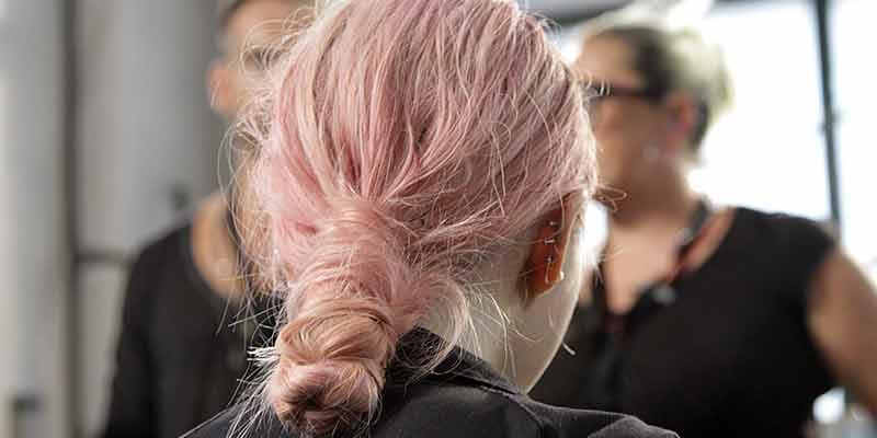 Roze haarkleuren