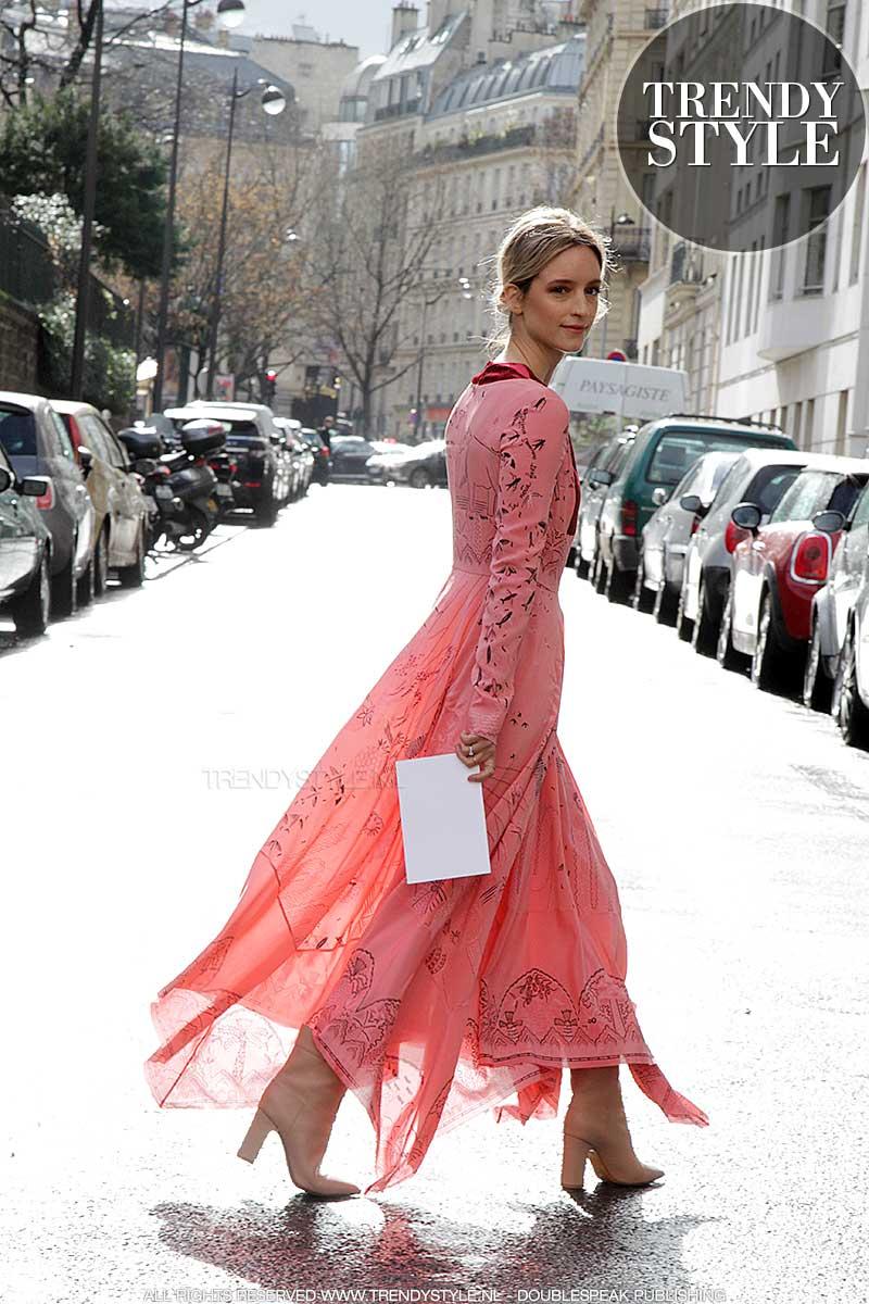 Roze modekleur