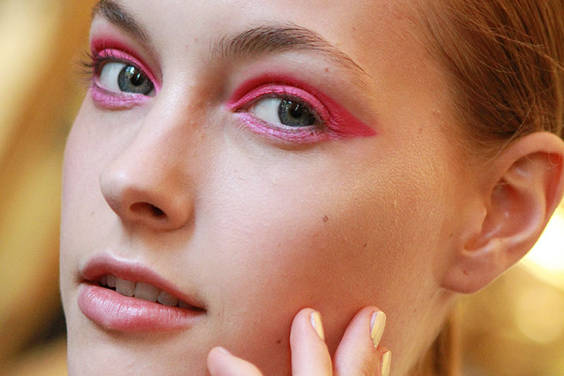 Roze make-up