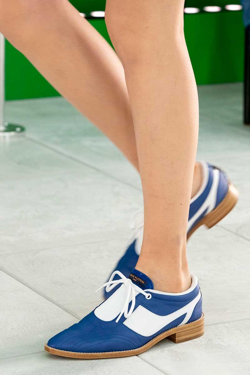 Schoenentrends lente zomer 2021. Deze schoenen kun je nu al aan! Photo: courtesy of Louis Vuitton