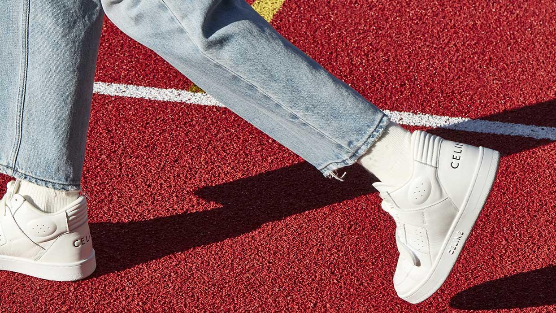 Schoenentrends lente zomer 2021. Deze schoenen kun je nu al aan! Photo: Celine