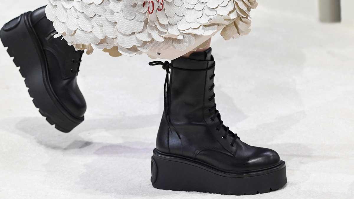 Schoenen trends herfst winter 2020. Combat boots