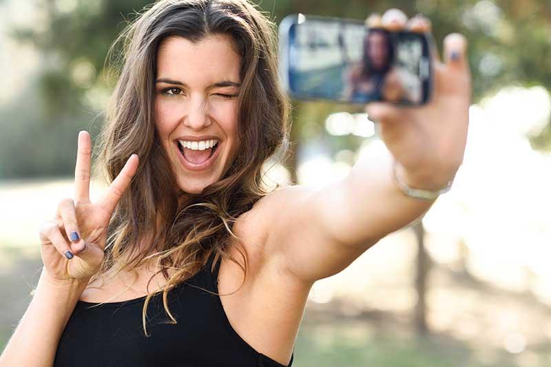 Selfie-elleboog