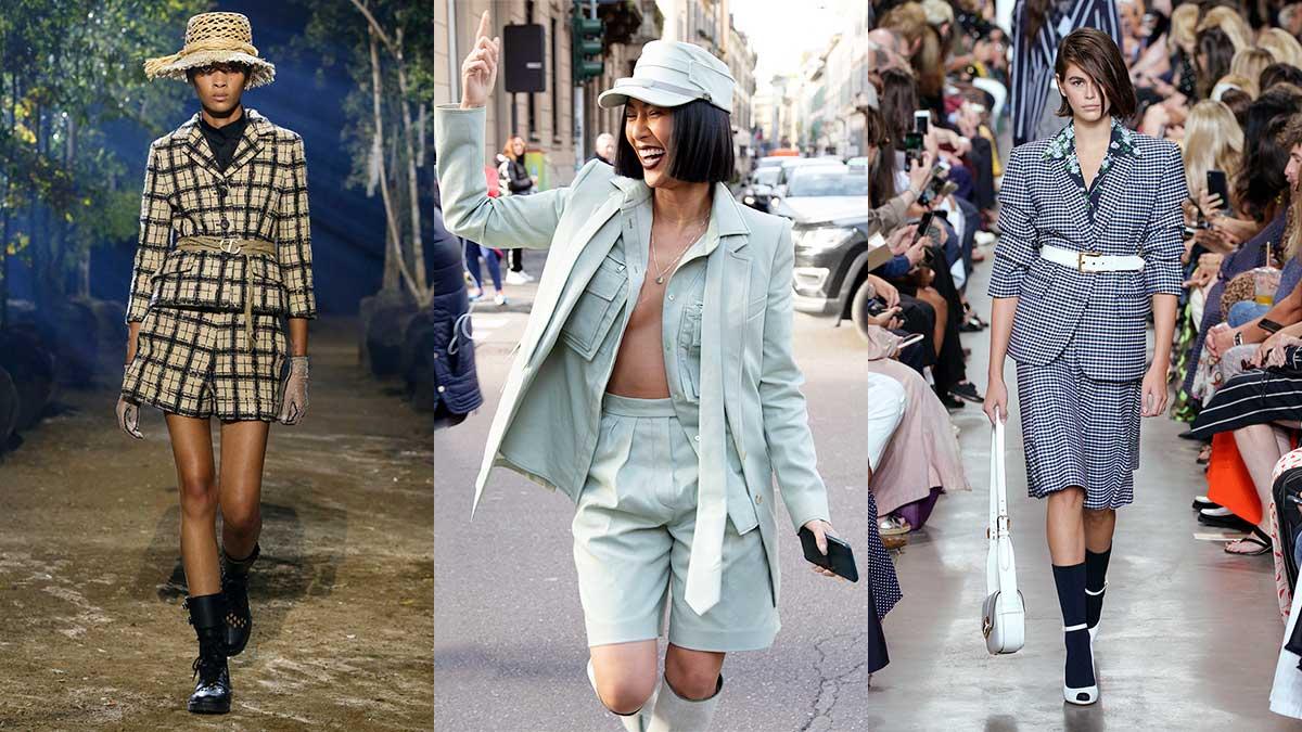 Modetrends lente zomer 2020. Short suits