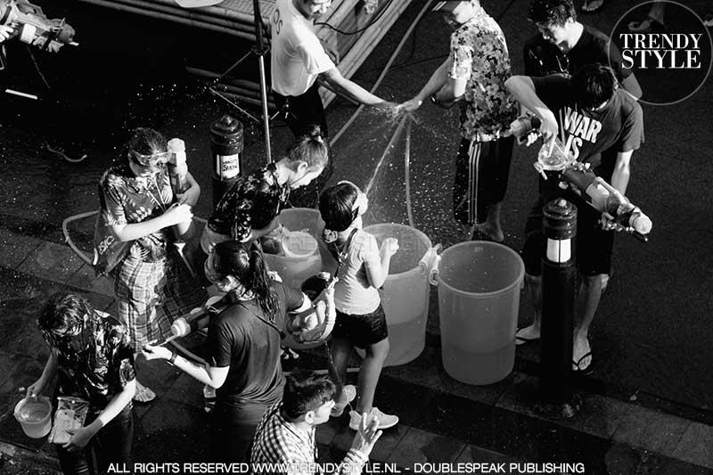 Songkran, Thais Nieuwjaar 2018 (Thaise jaartelling: 2561). Water Festival, ph. Charlotte Mesman