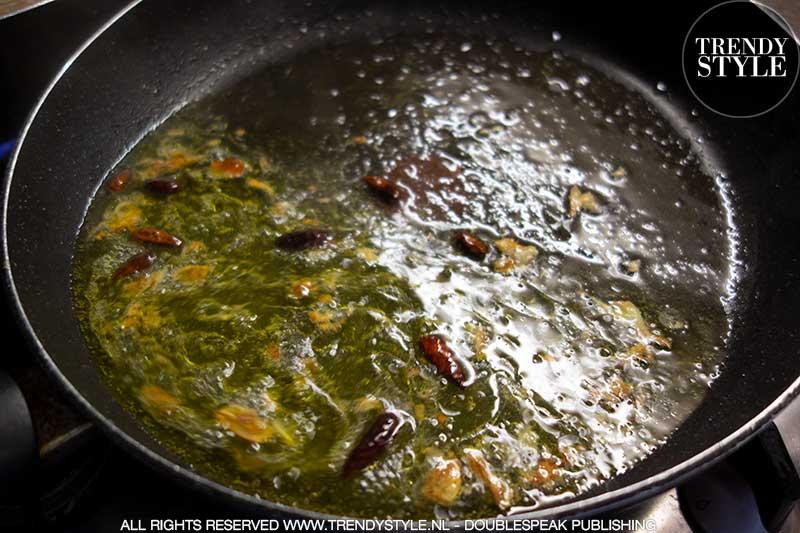 Kookrecept. Spaghetti aglio, olio e peperoncino