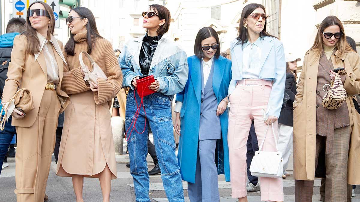 Streetstyle mode zomer 2020. Jaren '80 spijkerbroeken