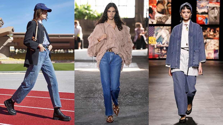 Jeans trends 2021. Trend alert: spijkerbroeken