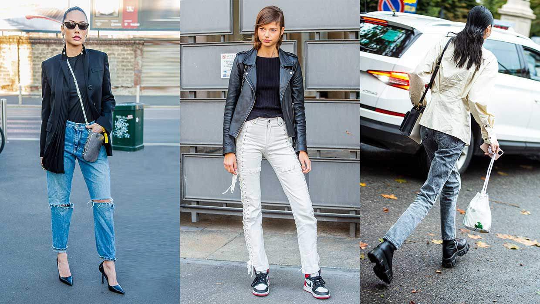 Spijkerbroeken trends 2021. Deze spijkerbroeken maken je (stukken) slanker
