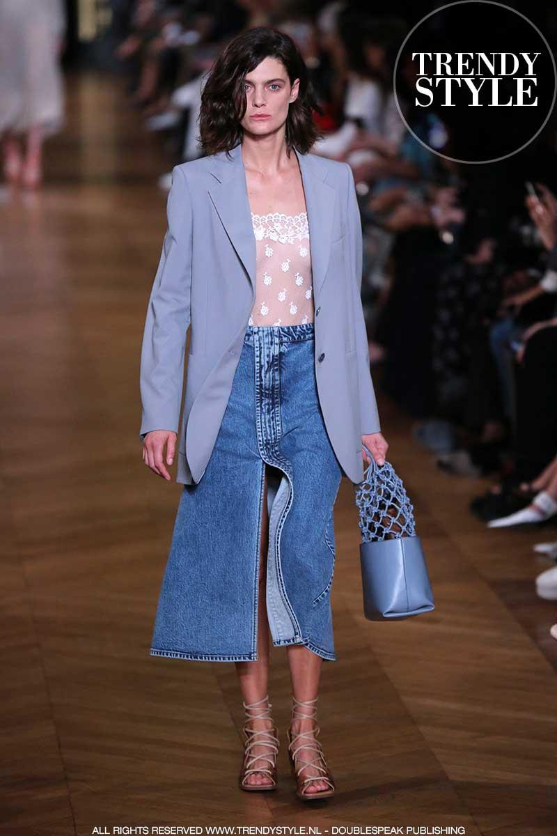 Modetrends lente zomer 2020. Spijkerrokken