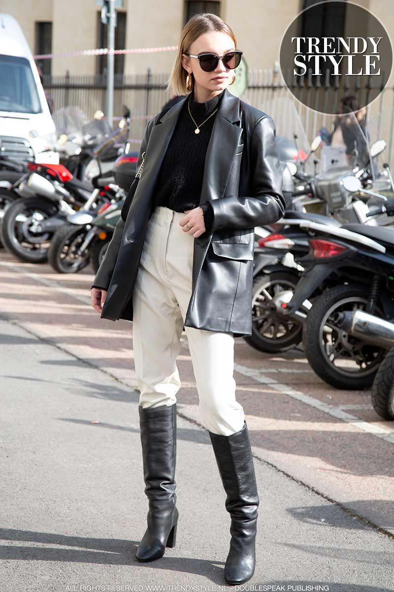 Streetstyle mode voorjaar 2020. Semi-casual looks die je humeur boosten