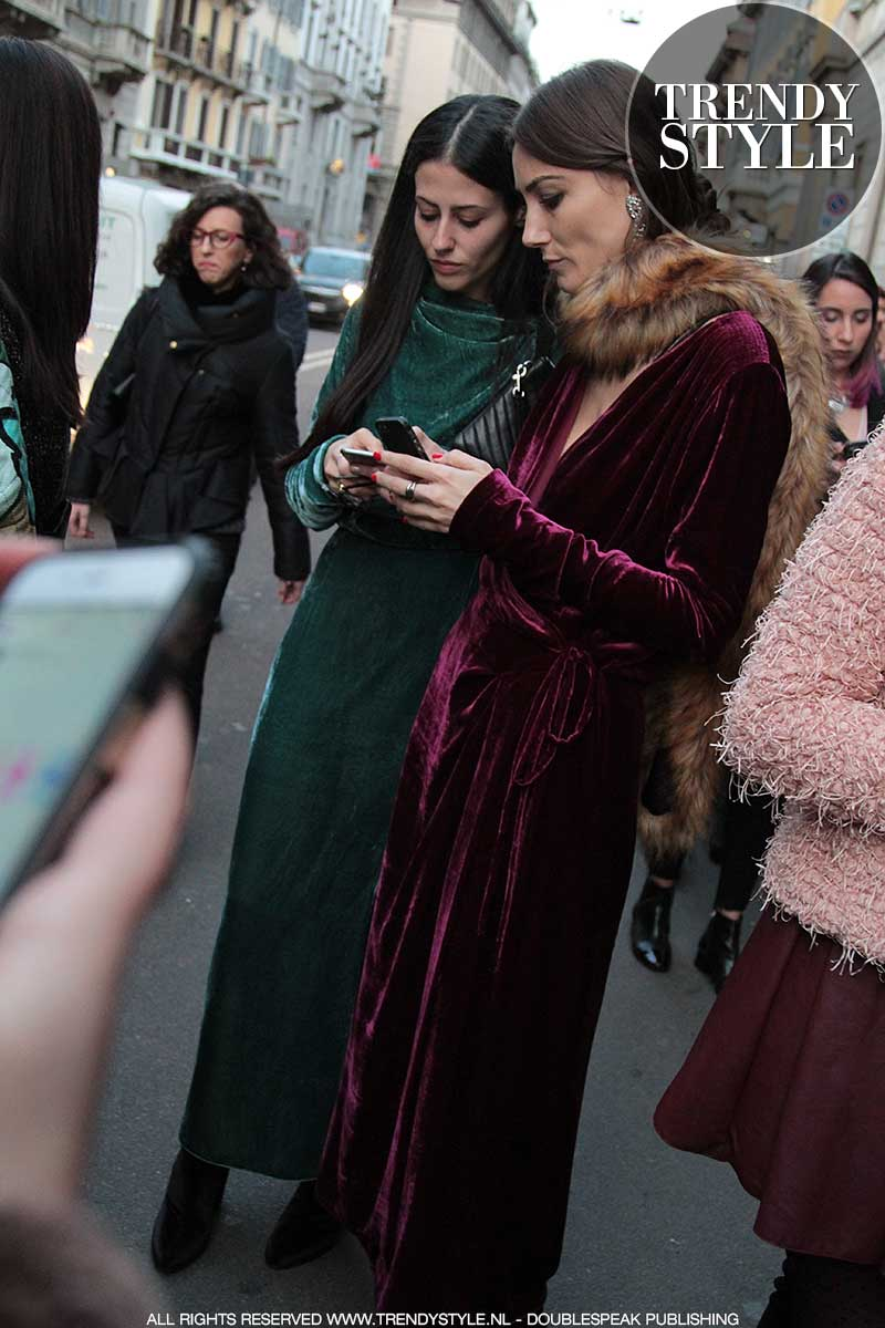 Modetrend: fluweel