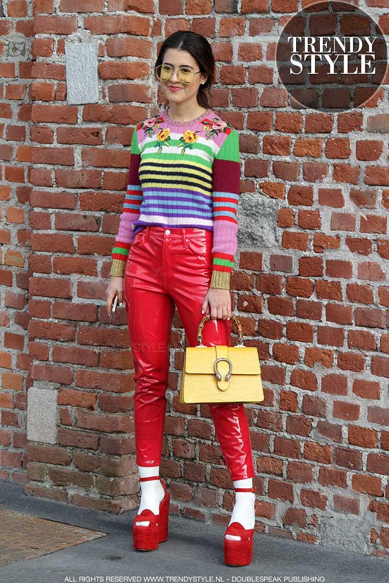 Streetstyle bij Gucci