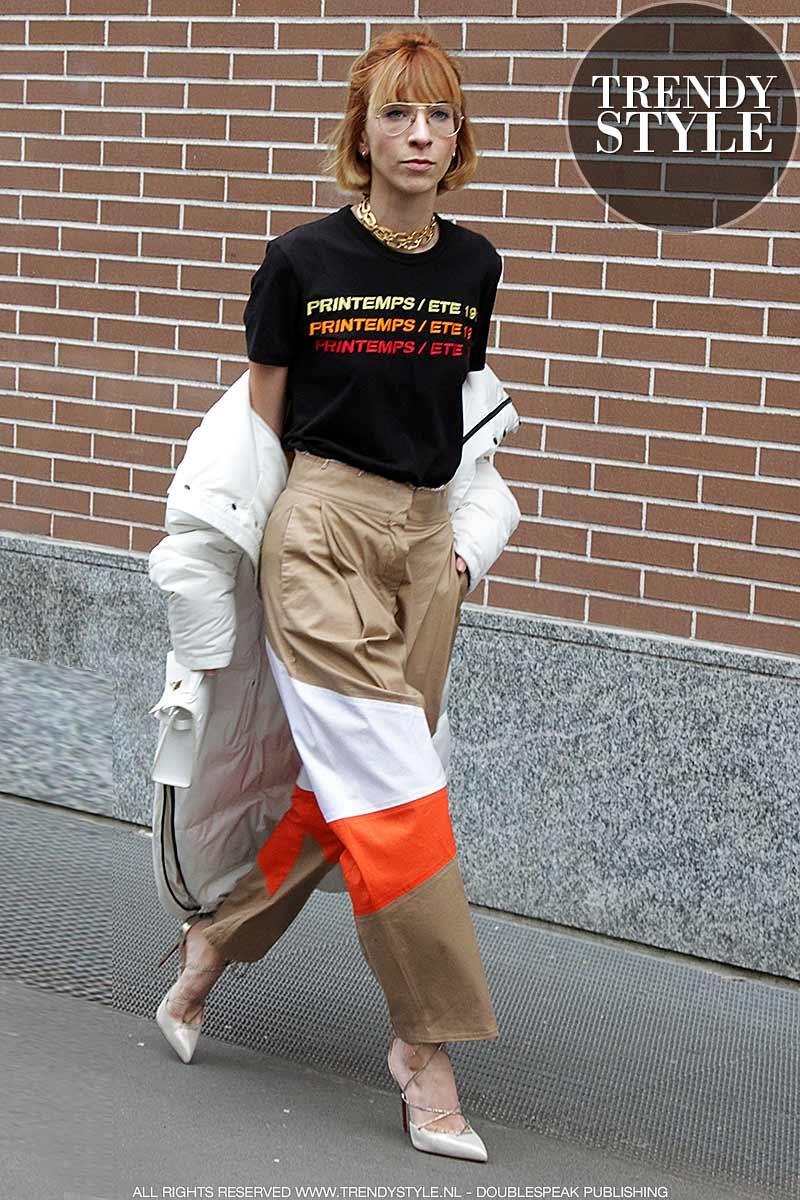 Street style vrouwen herfst 2017