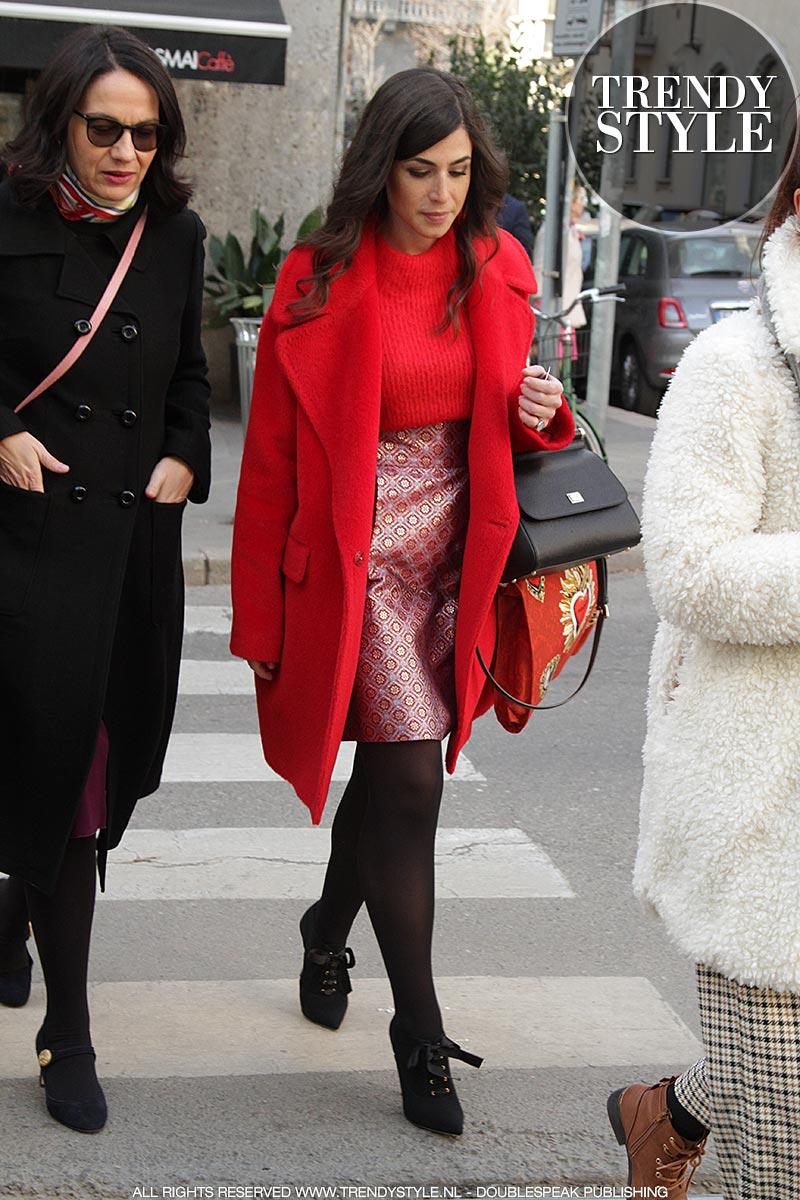Streetstyle Milan Fashion Week herfst winter 2019 2020