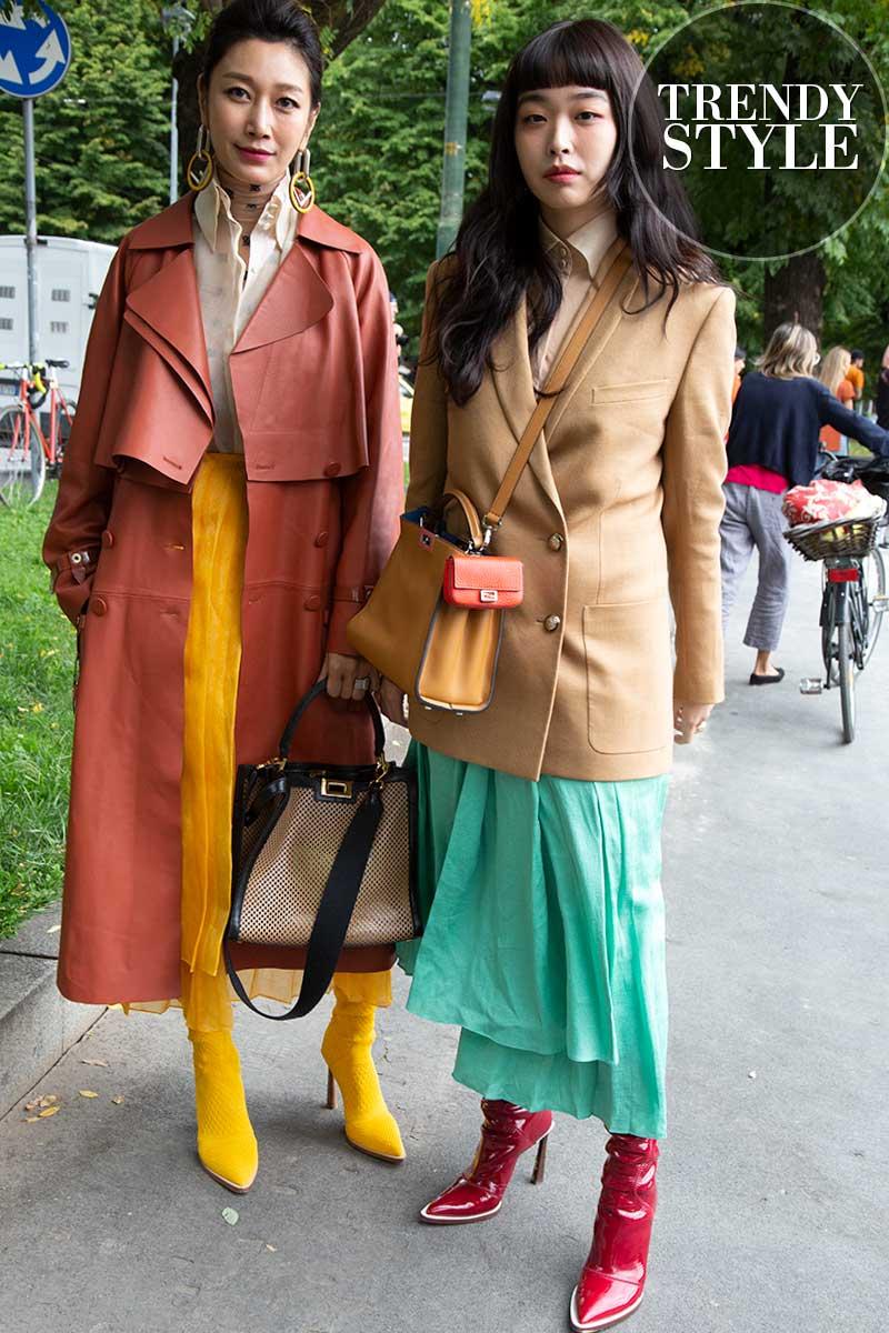 Streetstyle mode 2020. Mode ideeën voor voorjaar 2020