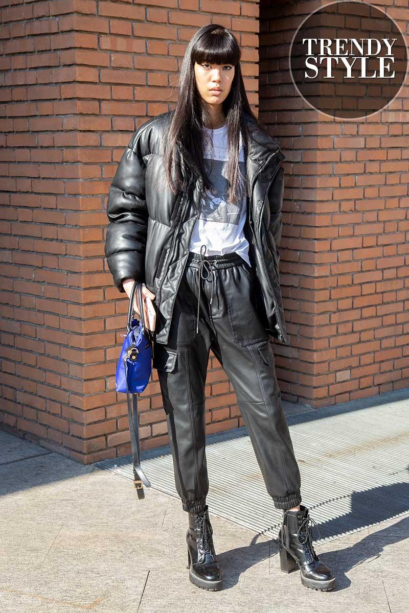 Streetstyle mode voorjaar 2021. Modellenlooks