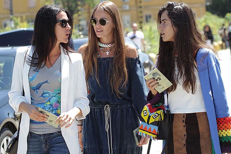Streetstyle Milan Fashion Week zomer 2017