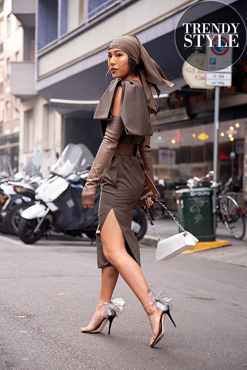 Streetstyle. De mode looks van de fashonista's bij Max Mara