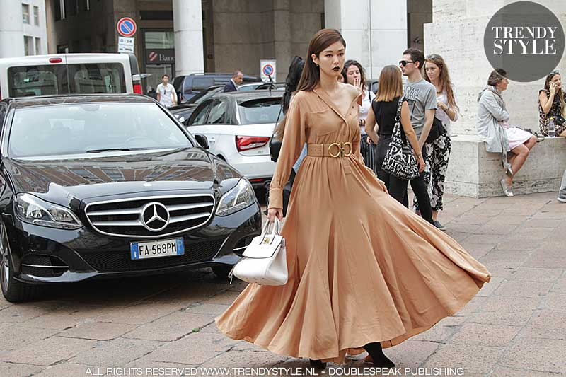 Streetstyle looks Milan Fashion Week zomer 2019