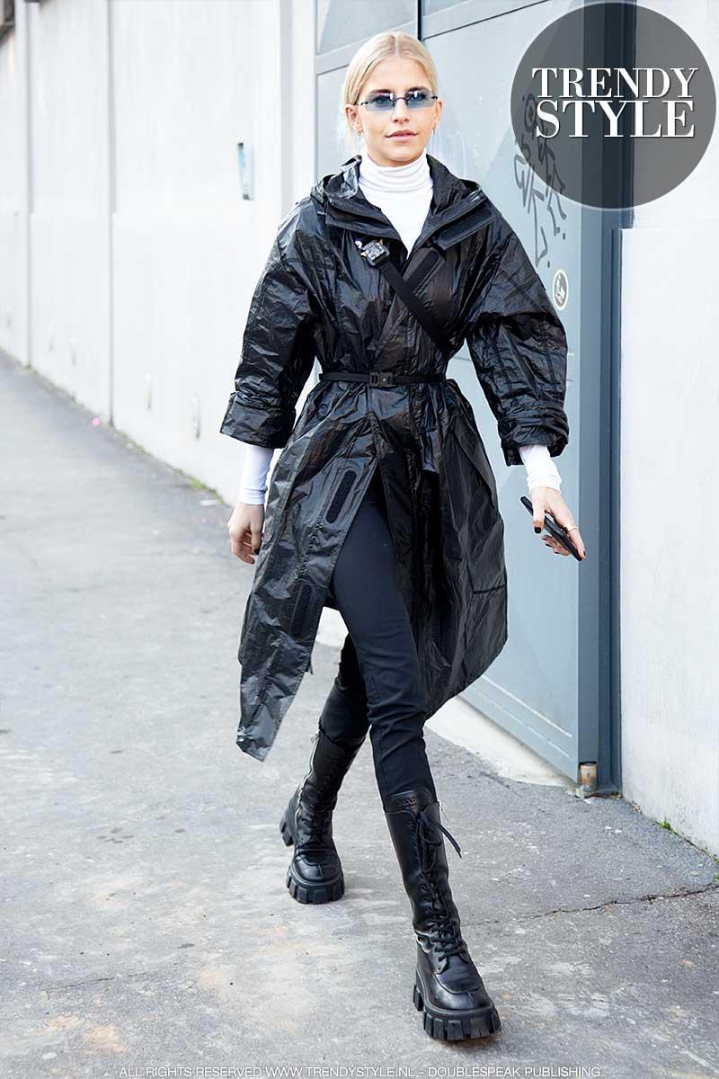 Streetstyle mode winter 2020. Milan Fashion Week