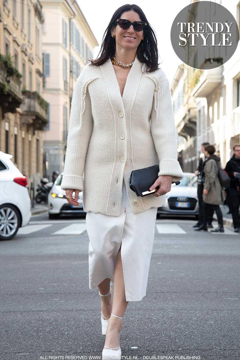 Streetstyle mode zomer 2020. Vesten en truien