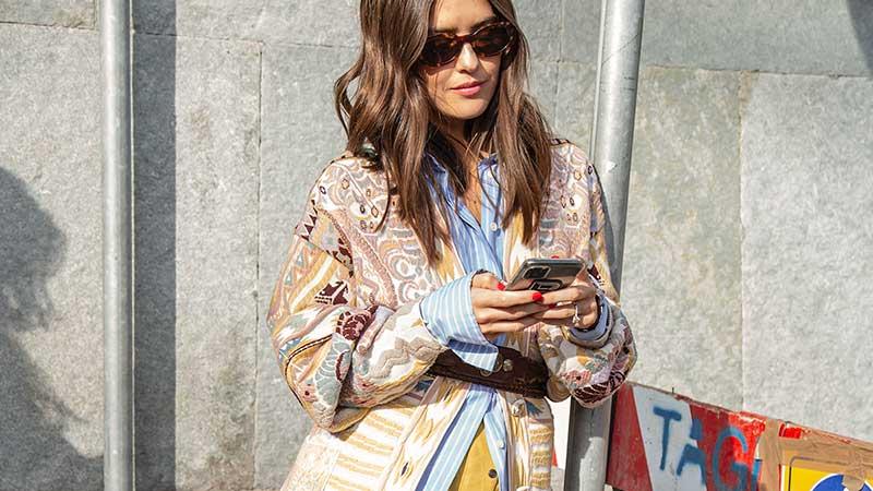 Streetstyle najaar 2020. Stylish mode looks voor Indian Summer Days