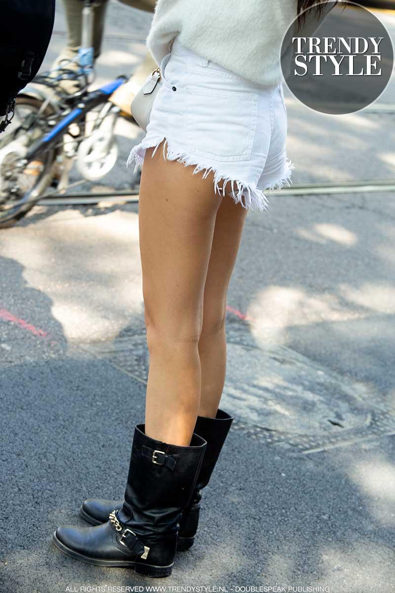 Streetstyle. Shorts voor alle leeftijden