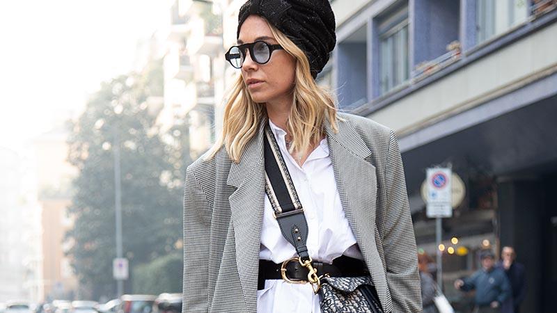 Streetstyle vrouw winter 2019 2020. Bizarre modelooks