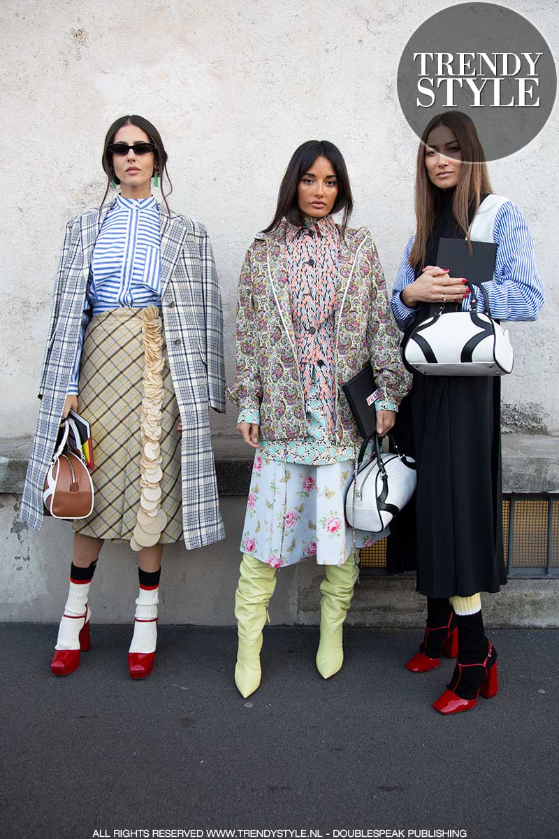Streetstyle mode voorjaar 2020. Streetstyle foto's en mode ideeën