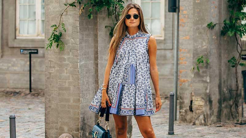Streetstyle trends zomer 2020. Vakantie mode. Foto: Copenhagen Fashion Week