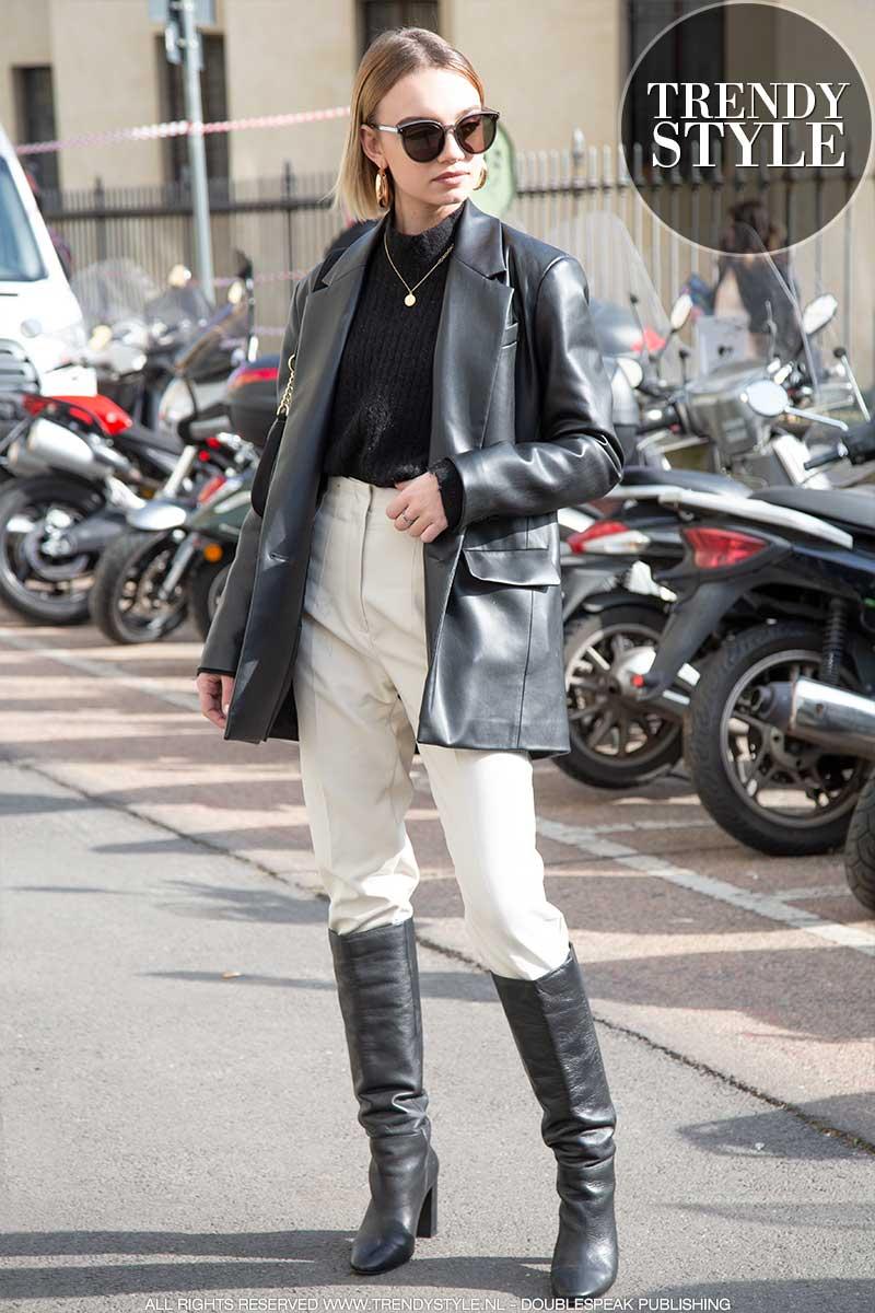 Streetstyle mode 2020. Stijlvol in broek