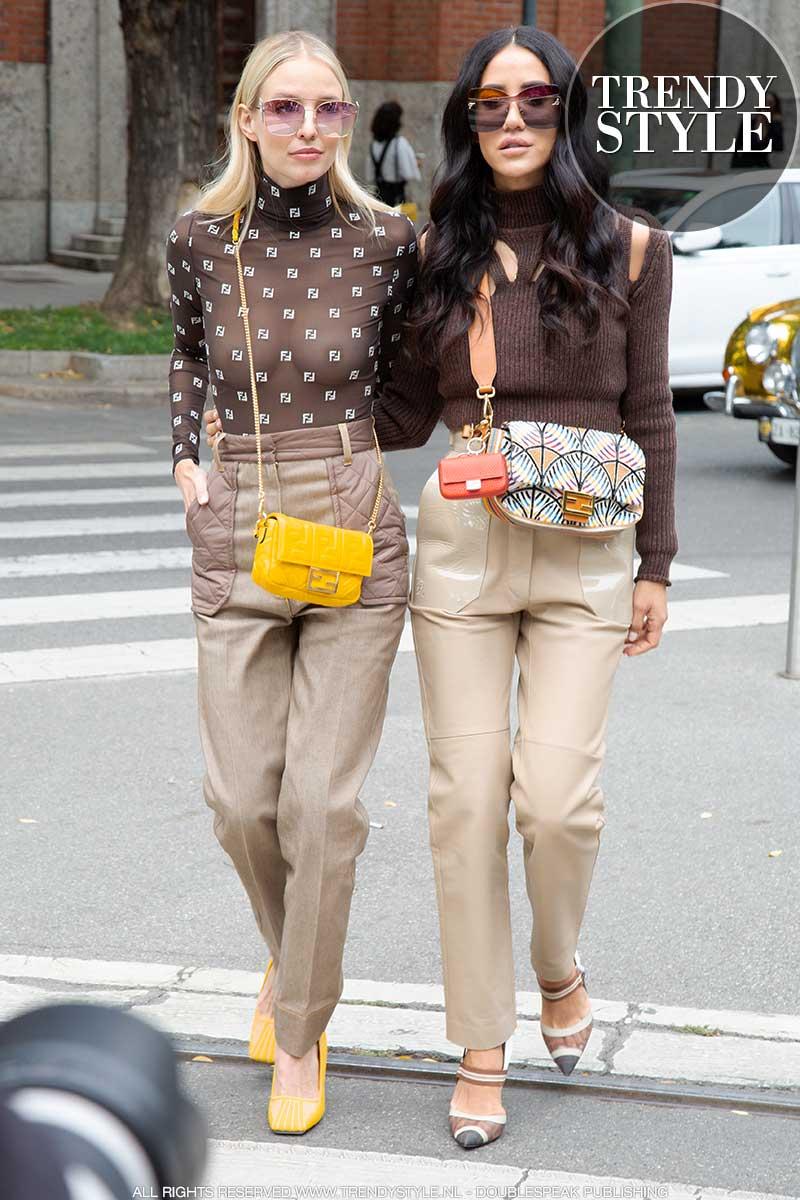Streetstyle en modekleuren 2020