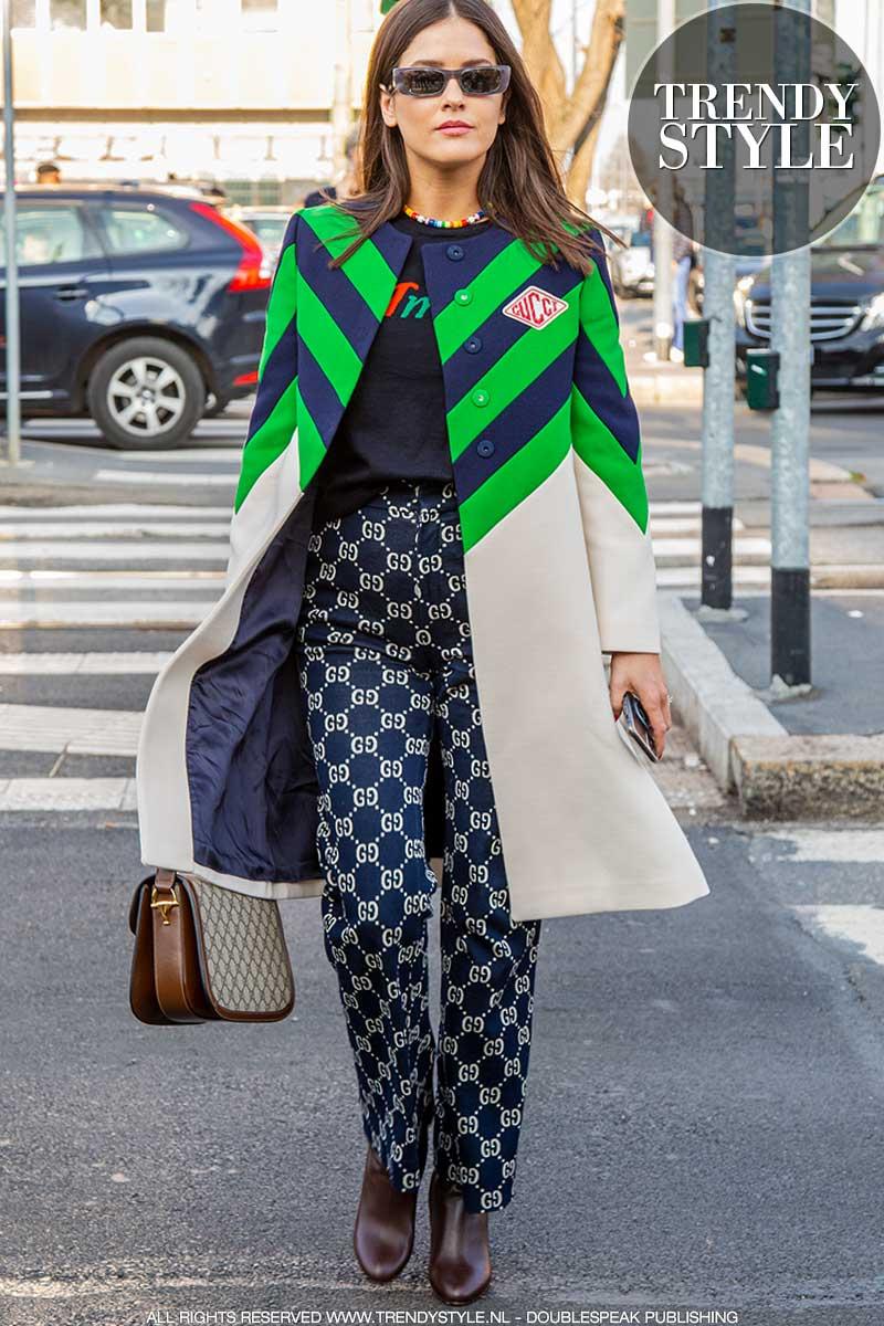 Streetstyle mode herfst 2020. Najaarsmode looks