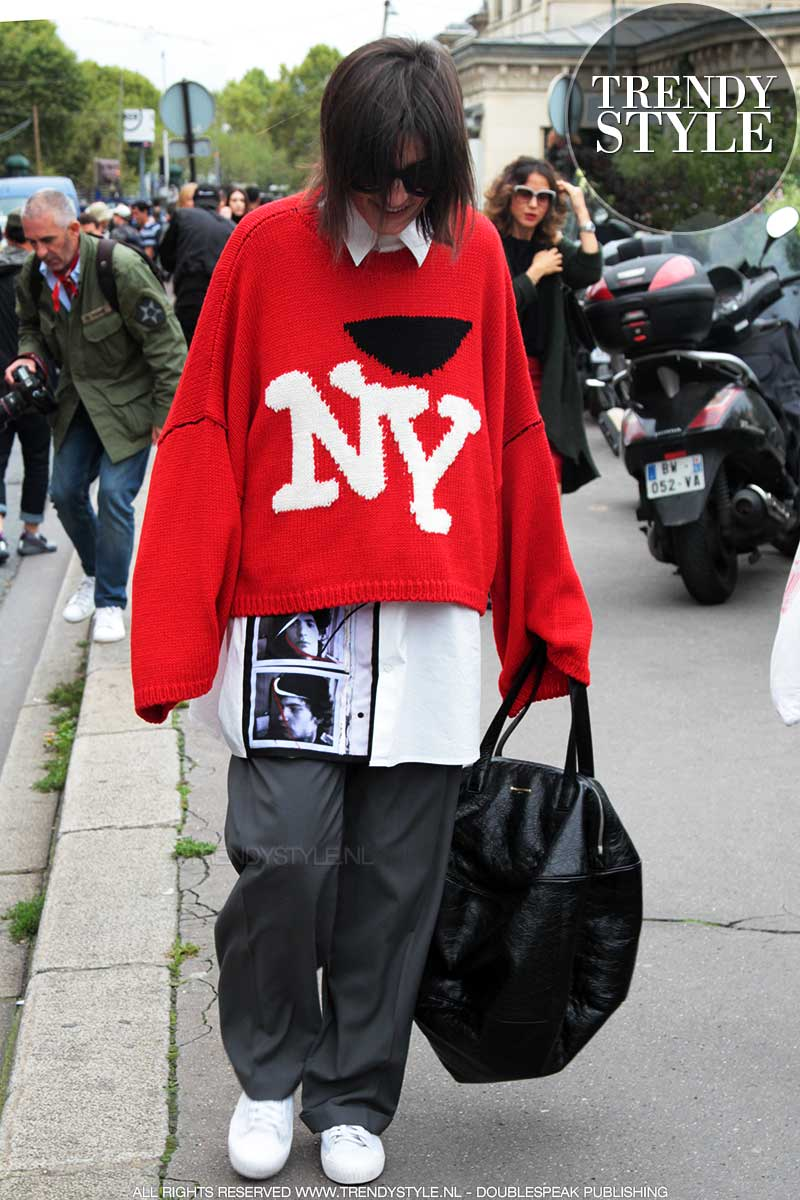 Street style mode 2018. Zo draag je een oversize outfit