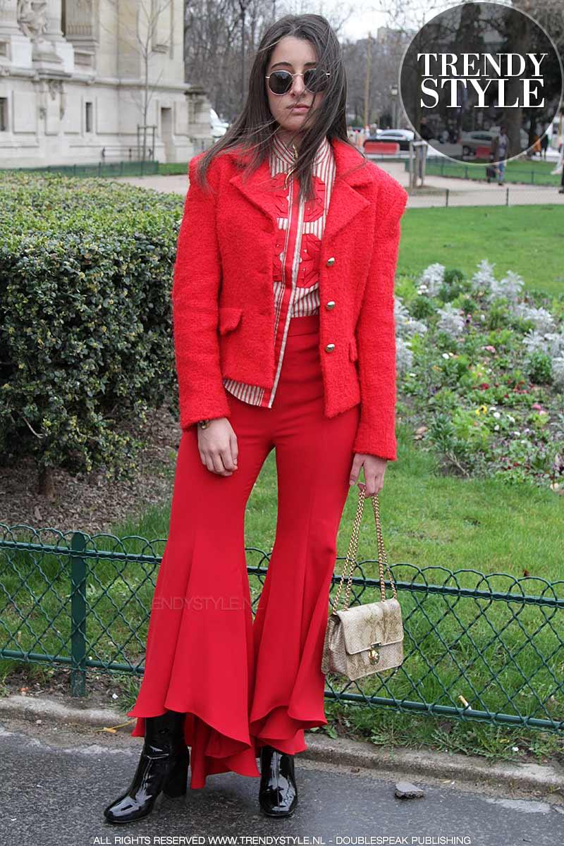 Rood mode kleur 2018