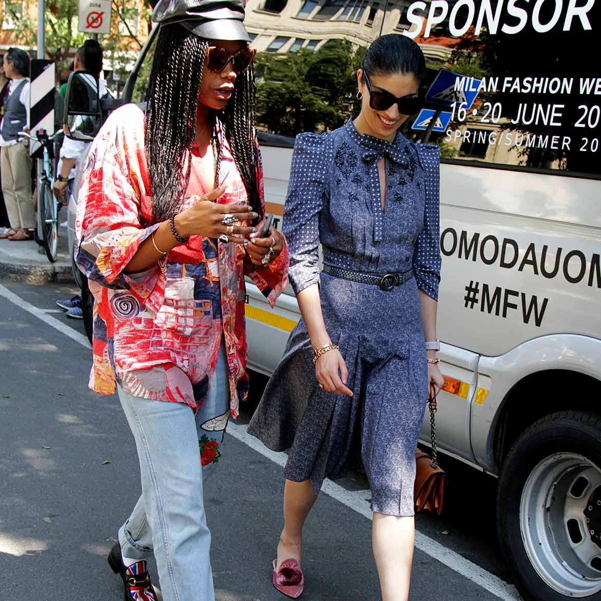 Streetstyle Milan Fashion Week zomer 2018