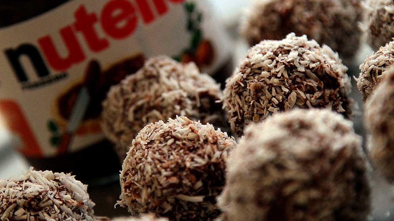 Kokos tartufo met maar drie ingrediënten