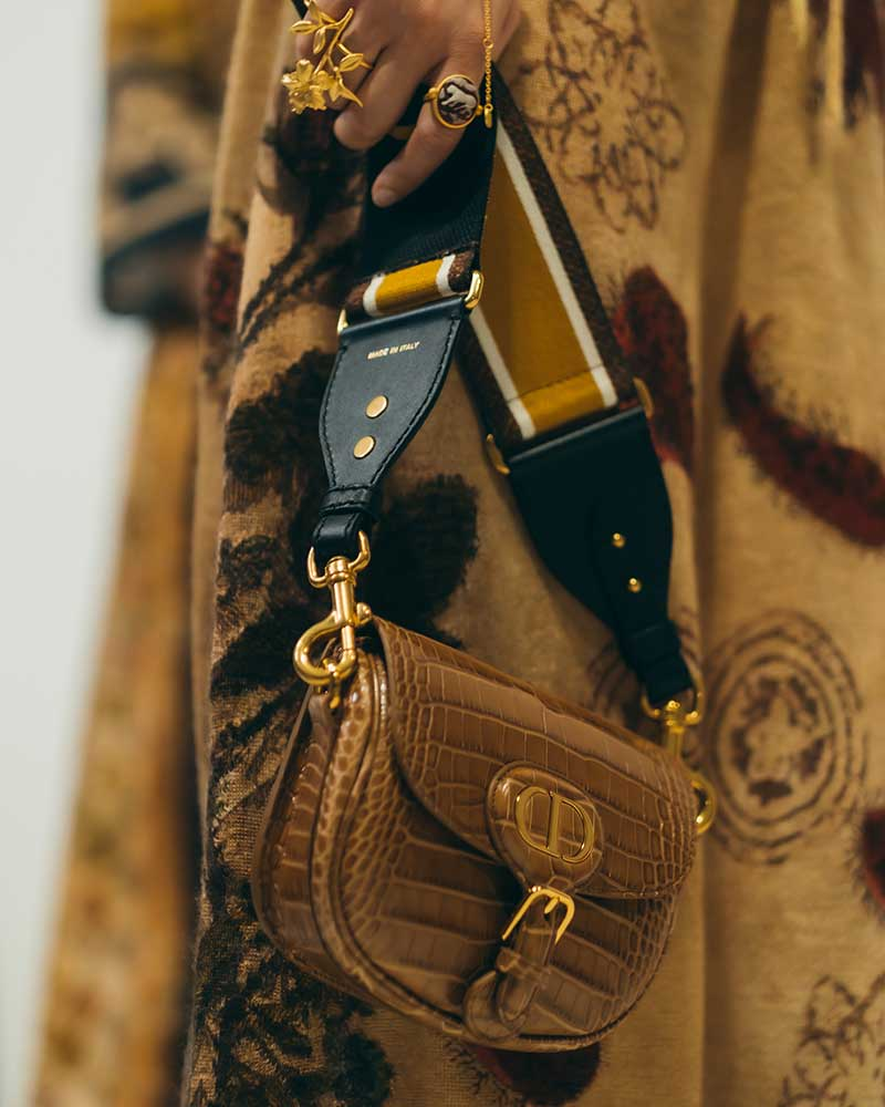 Modeaccessoires 2021. Tassentrends. Christian Dior