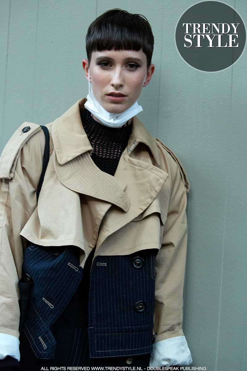 Streetstyle 2021. Stijlvol in trench coat